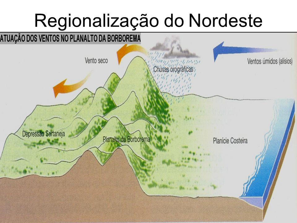Regionalização do Nordeste