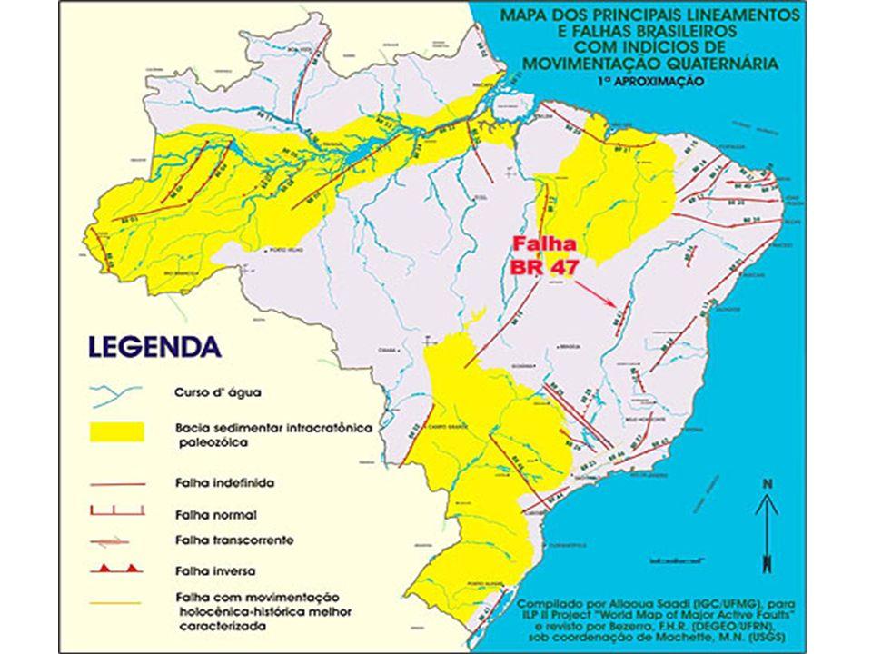 Existem terremotos no Brasil?