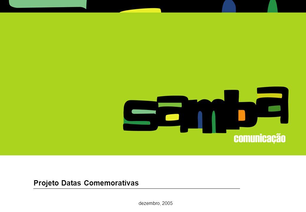 27 Projeto Datas Comemorativas dezembro, 2005