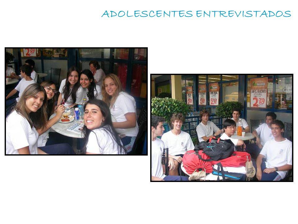 ADOLESCENTES ENTREVISTADOS