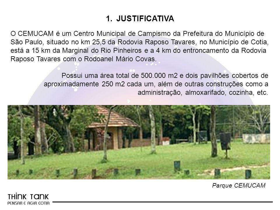 _________________________________________________________ O CEMUCAM é um Centro Municipal de Campismo da Prefeitura do Município de São Paulo, situado