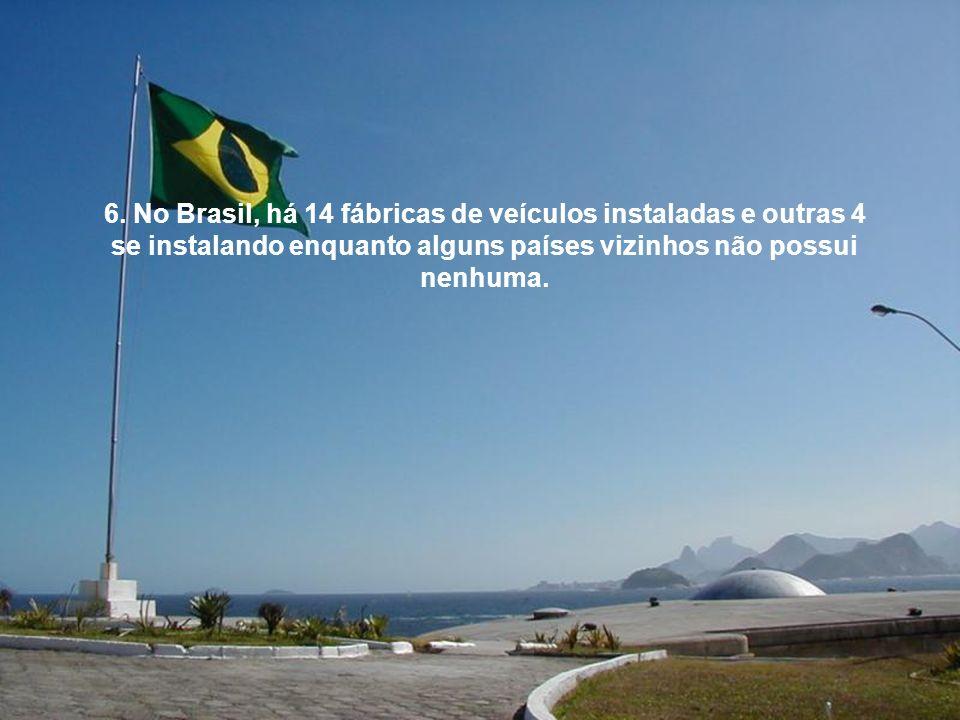 5. Mesmo sendo um país em desenvolvimento, os internautas brasileiros representam uma fatia de 40% do mercado na América Latina.