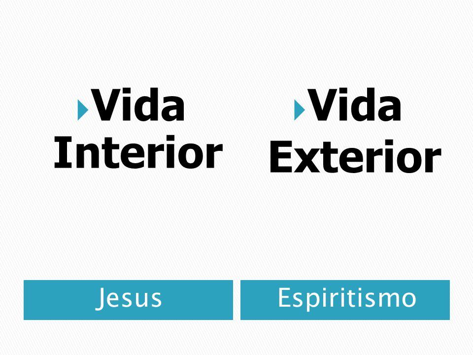 JesusEspiritismo Vida Interior Vida Exterior