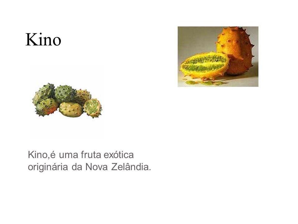 Kino Kino,é uma fruta exótica originária da Nova Zelândia.