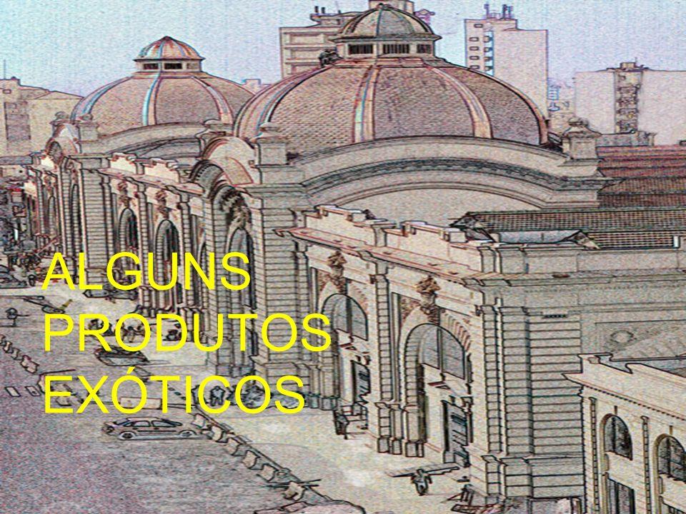 ALGUNS PRODUTOS EXÓTICOS