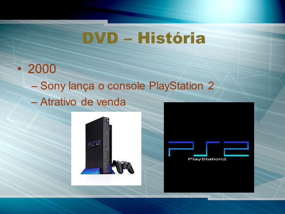 DVD – História 2000 –Sony lança o console PlayStation 2 –Atrativo de venda