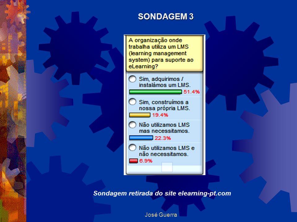 José Guerra Sondagem retirada do site elearning-pt.com SONDAGEM 3