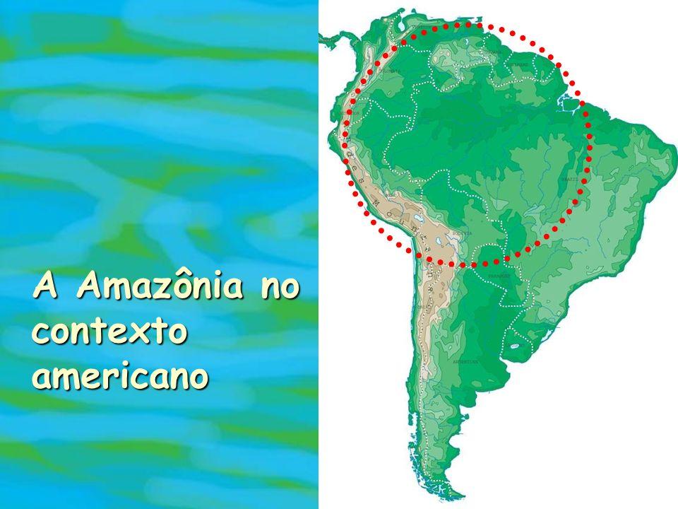 A Amazônia no contexto americano