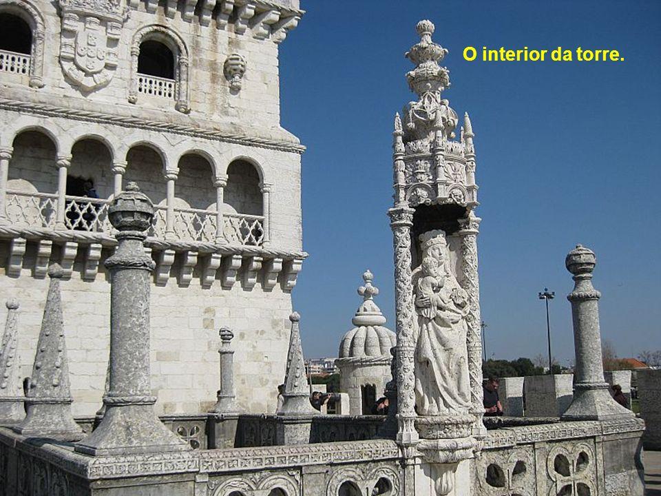 A Torre de Belém.