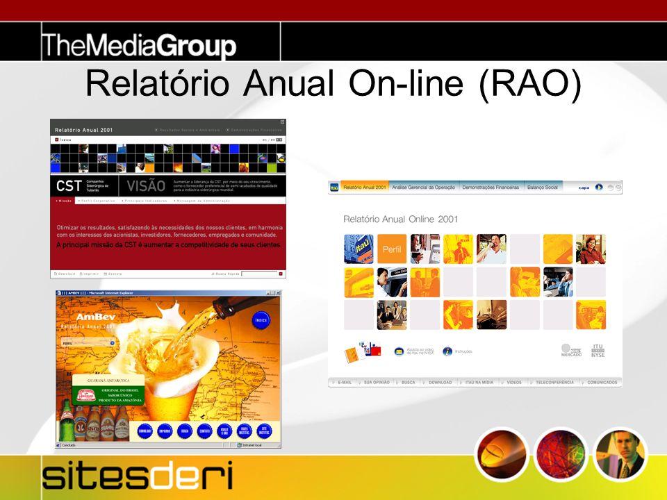 Relatório Anual On-line (RAO)