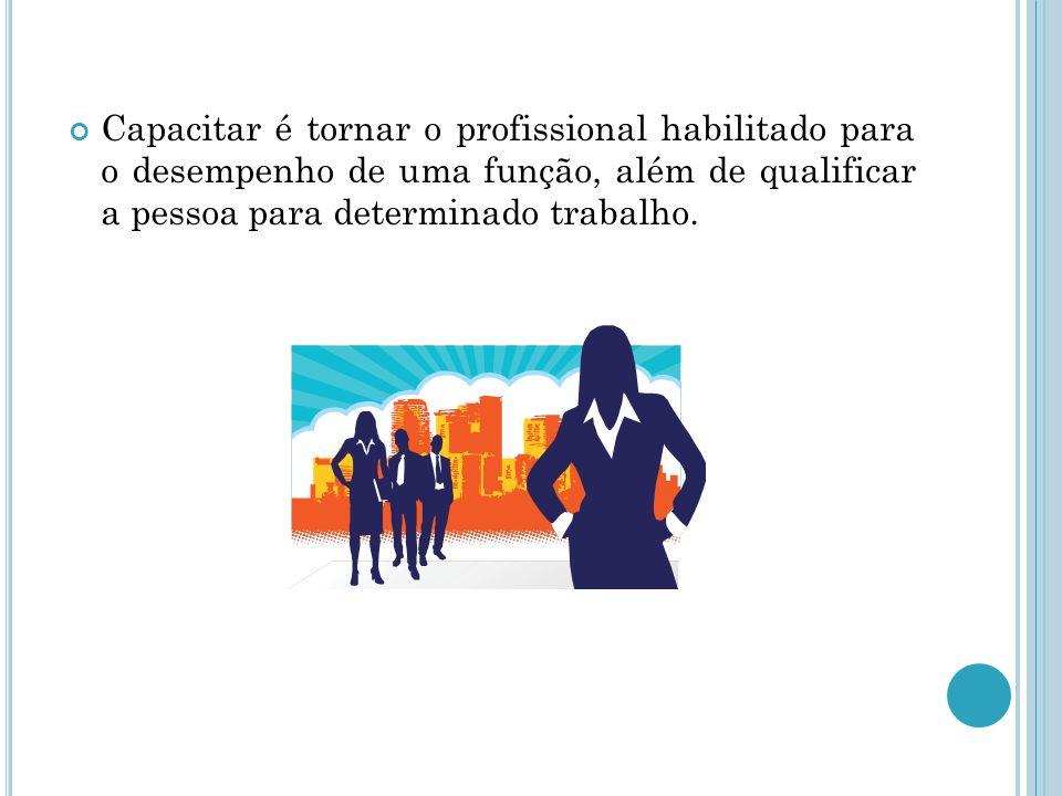 A importância da capacitação profissional para a vida das pessoas, encontra-se na possibilidade de acesso as oportunidades de trabalho, que por sua vez, têm suas características modificadas a cada dia.