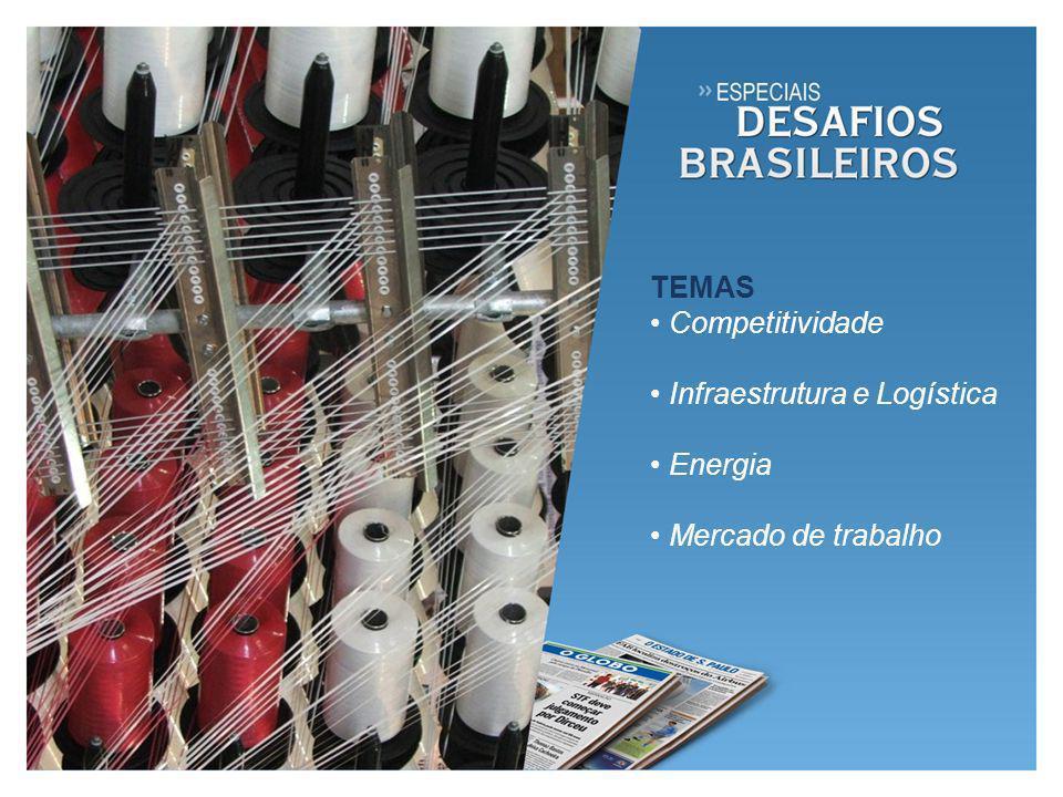 O desafio dos empresários brasileiros, especialmente da indústria, de enfrentar a concorrência internacional em meio às dificuldades da crise financeira global.