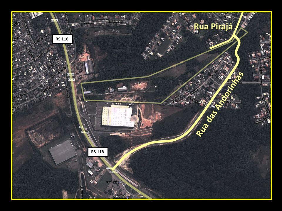 Rua das Andorinhas Rua Pirajá RS 118