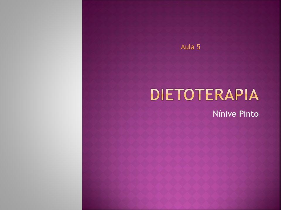 A prescrição de dietas depende das condições em que se encontra o doente podendo variar desde a chamada dieta zero até a dieta normal.
