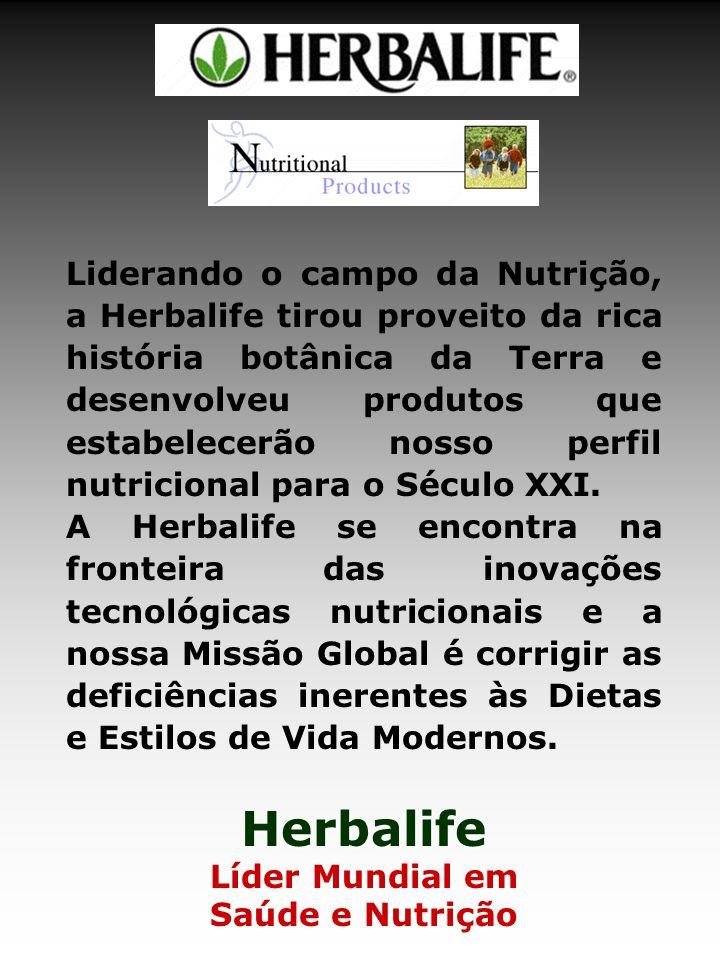 Liderando o campo da Nutrição, a Herbalife tirou proveito da rica história botânica da Terra e desenvolveu produtos que estabelecerão nosso perfil nutricional para o Século XXI.