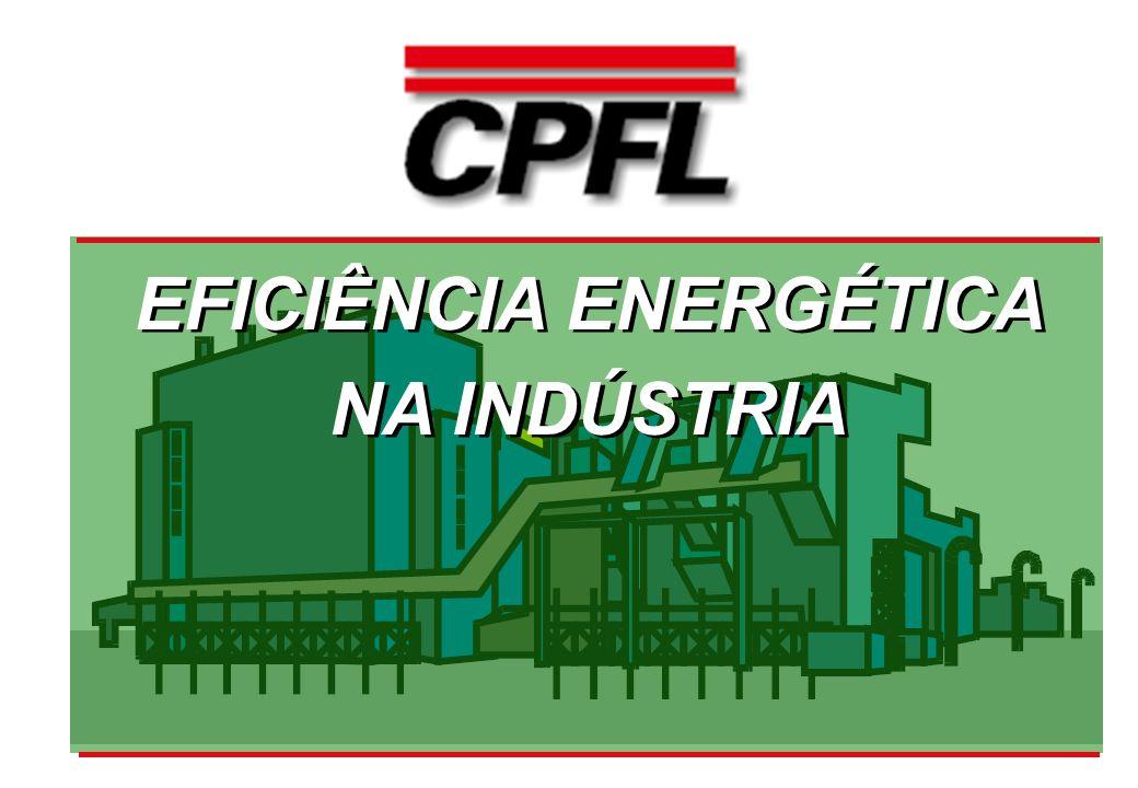 EFICIÊNCIA ENERGÉTICA NA INDÚSTRIA