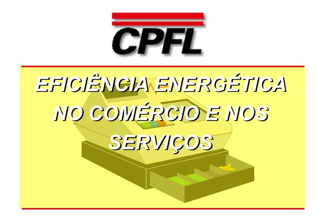 EFICIÊNCIA ENERGÉTICA NO COMÉRCIO E NOS SERVIÇOS