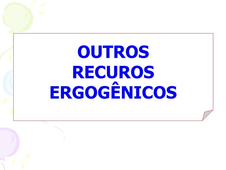OUTROS RECUROS ERGOGÊNICOS