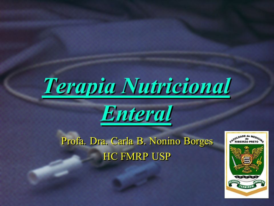 Terapia Nutricional Enteral Osmolaridade / osmolalidade: Nutrientes que influenciam: - Carboidratos simples, - Eletrólitos (Na, K, Cl), - Peptídeos, - AAs cristalinos.