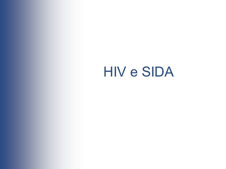 HIV e SIDA