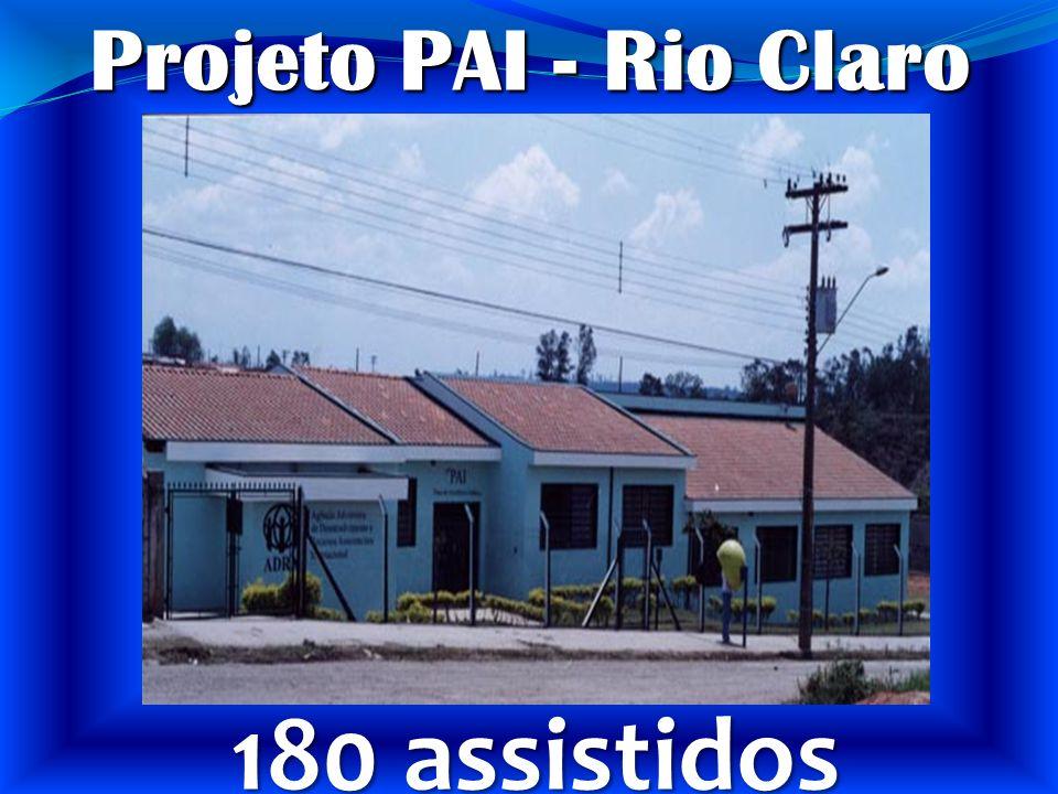 Rio Claro Projeto PAI - Rio Claro 180 assistidos