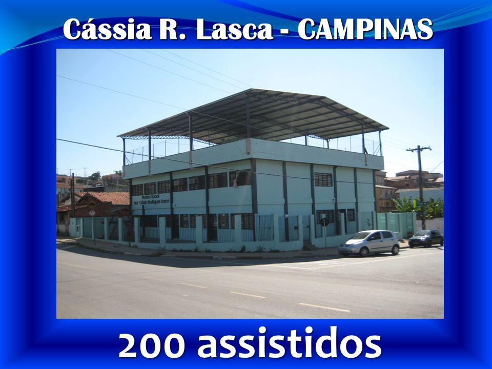 Cássia R. Lasca - CAMPINAS 200 assistidos