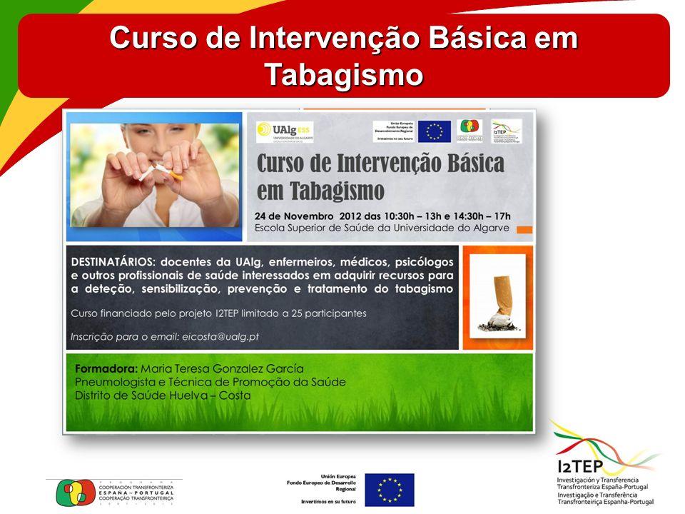 Curso de Intervenção Básica em Tabagismo