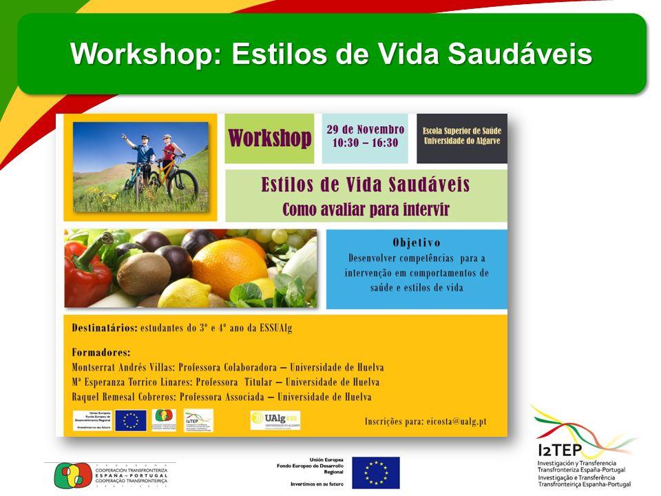Workshop: Estilos de Vida Saudáveis