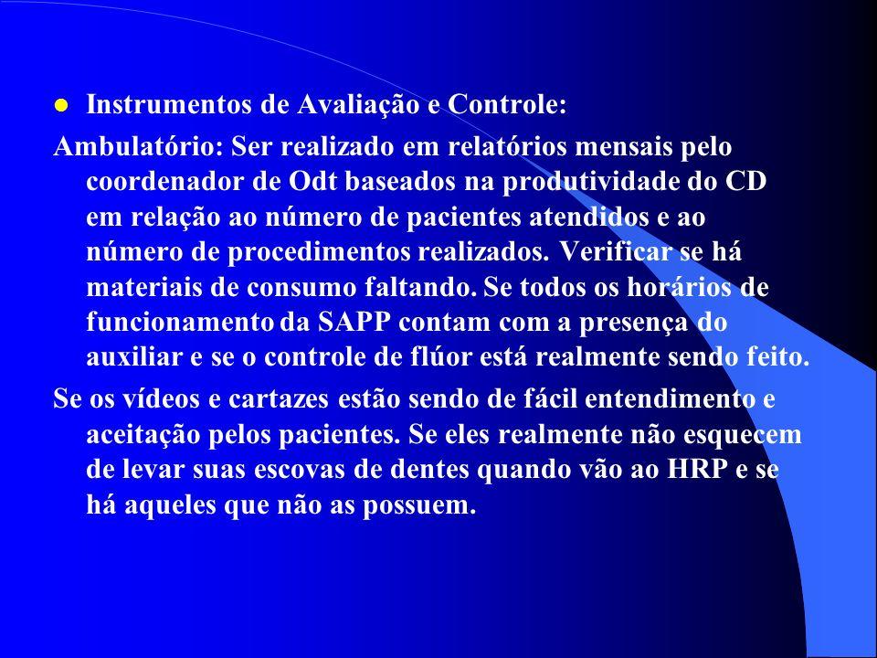 l Capacitação e Treinamento dos Recursos Humanos: CEDRHUS, NNO e CDs da FHDF l Instrumentos de Programação: Na SAPP é feito o auto-atendimento com o c