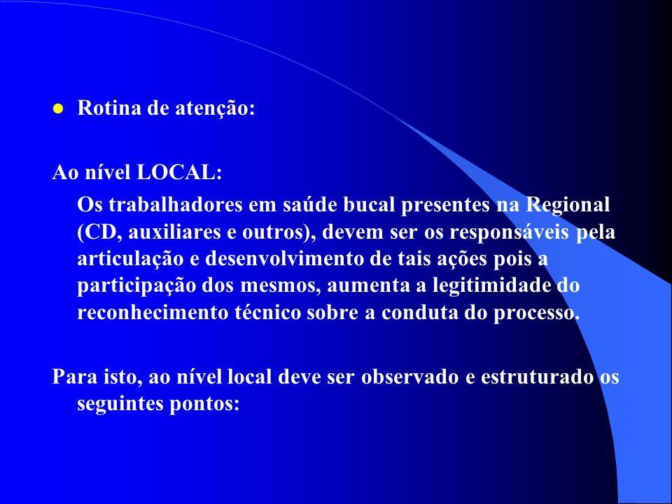l Mecanismo de referência e contra-referência: Conselho UPSC CS Coordenação Regional NNO CAESB usuário