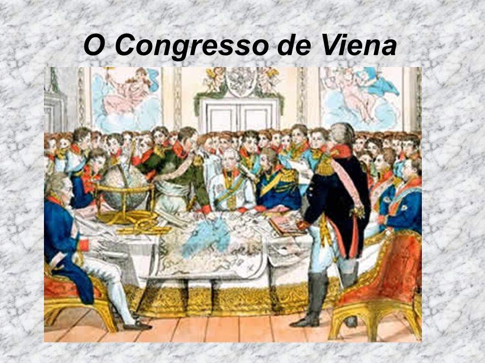 O Congresso de Viena
