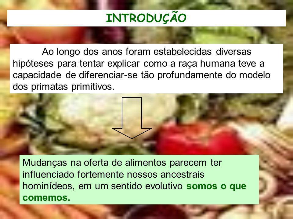 EXPANSÃO DO HOMEM - Aumento da população total, - Desenvolvimento de novas técnicas, como agricultura, cozimento de alimentos, - Introdução de novos alimentos na dieta, - Seleção genética das plantas como arroz, trigo,...