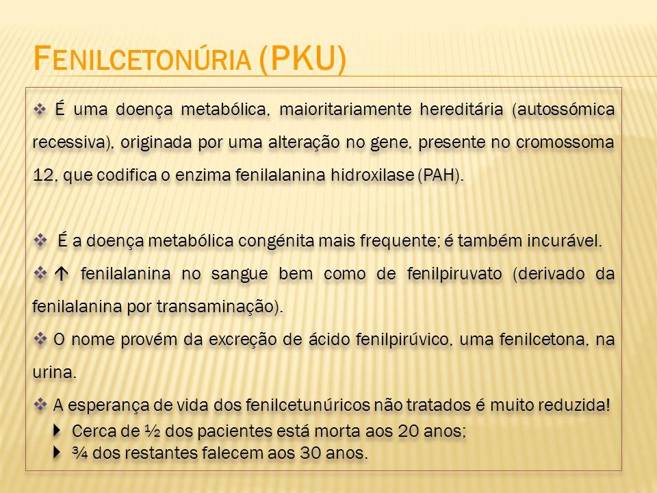 É uma doença metabólica, maioritariamente hereditária (autossómica recessiva), originada por uma alteração no gene, presente no cromossoma 12, que cod