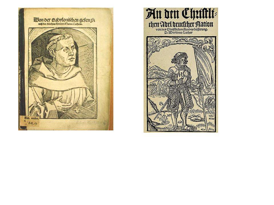 23.7.1532 Nürnberger Anstand (paz de Nuremberg): -revogação do édito de Worms do ano 1521 (e da proscrição) -Fonte: Bericht uff den vermeinten fürgestalten Anstandt zu Nürenberg.