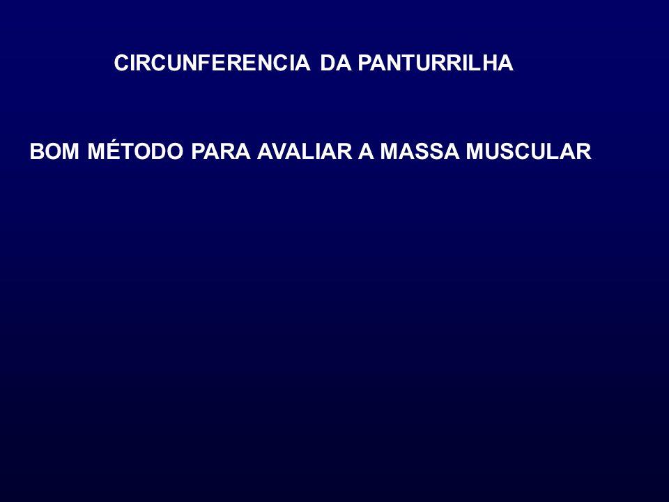 CIRCUNFERENCIA DA PANTURRILHA BOM MÉTODO PARA AVALIAR A MASSA MUSCULAR