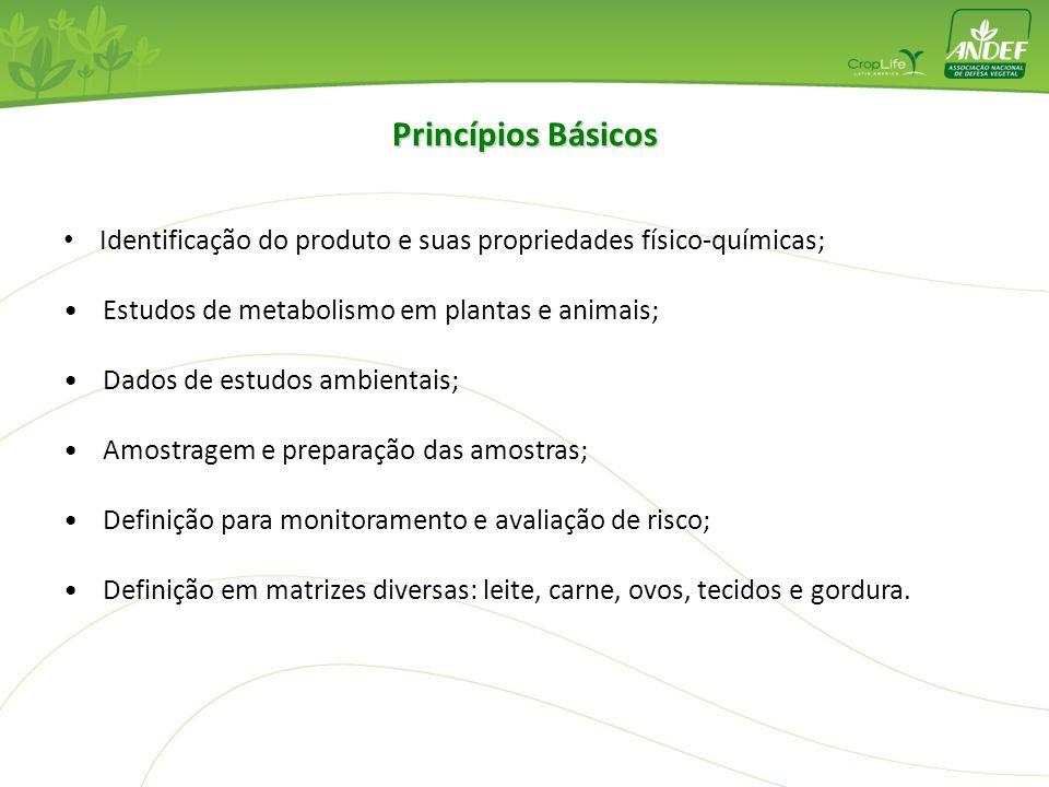 Definição de Resíduos de Agrotóxicos e LMR Um resíduo é qualquer substância específica em alimentos, commodities agrícolas ou em rações animais result