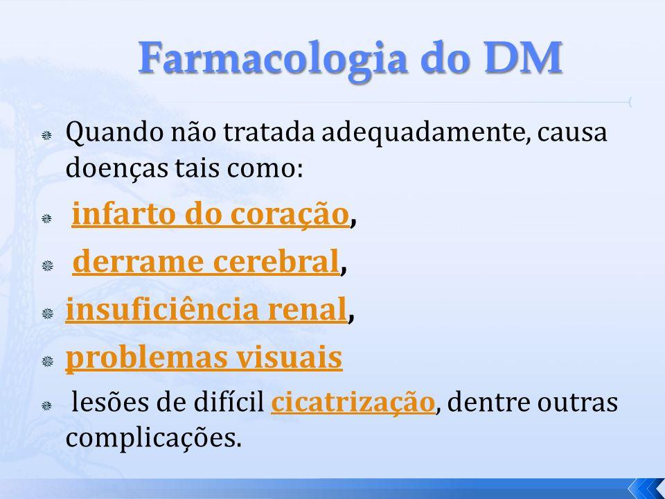 A DM tem uma grande importancia mundial.