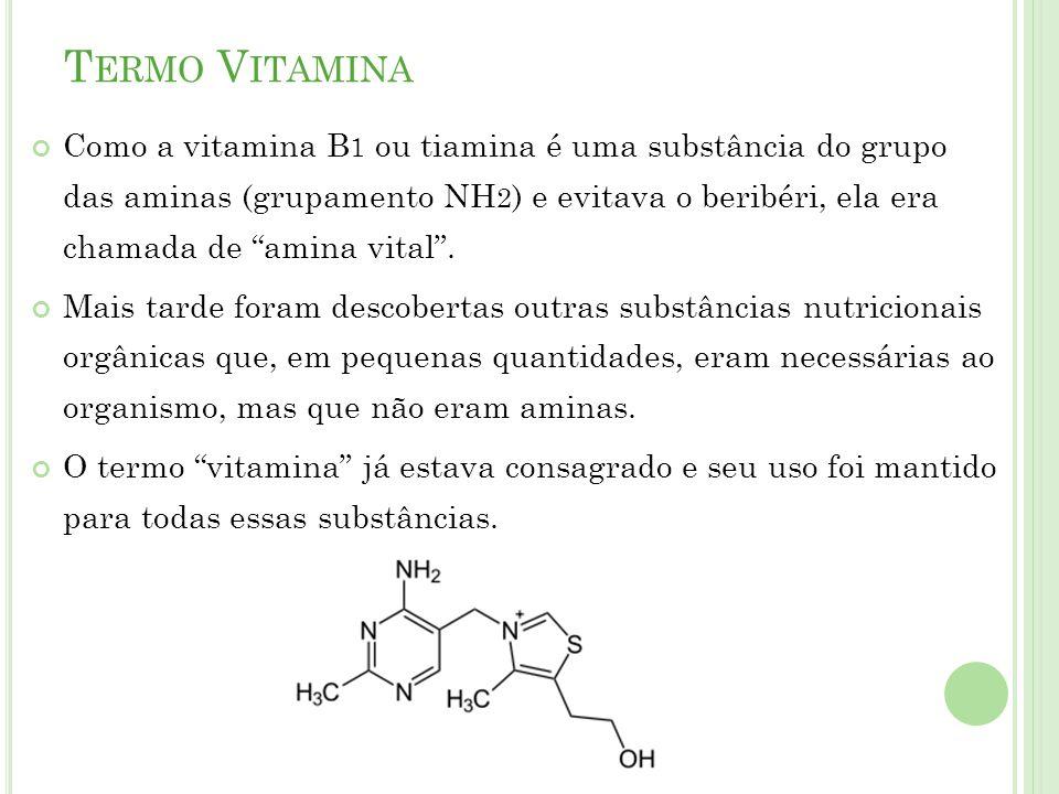 F ONTES DE V ITAMINAS As fontes naturais são os alimentos.