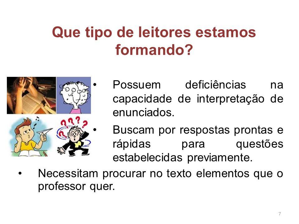 Muitos alunos leem fluentemente, mas têm dificuldades para escrever.