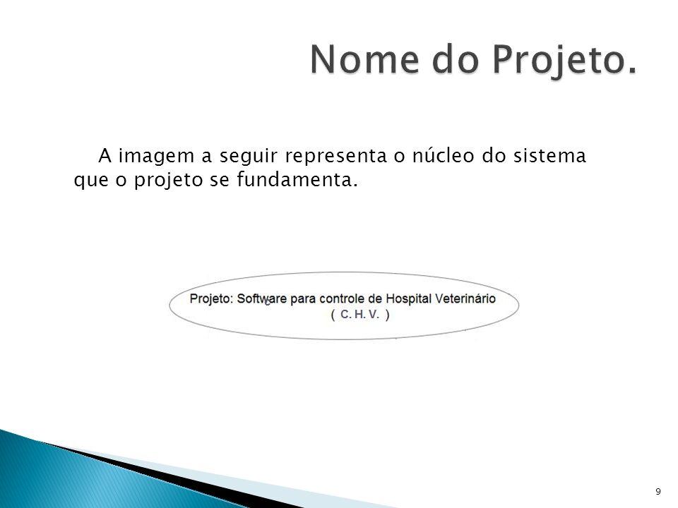 A imagem a seguir representa o núcleo do sistema que o projeto se fundamenta. 9