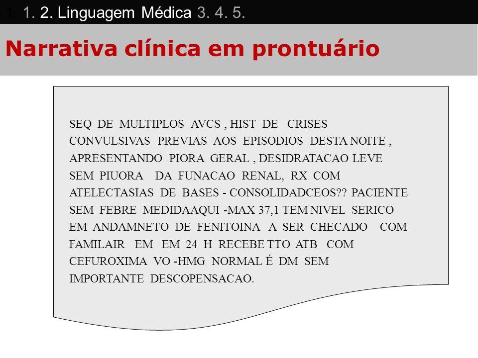 Narrativa clínica em prontuário SEQ DE MULTIPLOS AVCS, HIST DE CRISES CONVULSIVAS PREVIAS AOS EPISODIOS DESTA NOITE, APRESENTANDO PIORA GERAL, DESIDRA