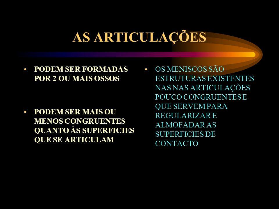 AS PRINCIPAIS ESTRUTURAS SÃO: OSSO FORMAM BRAÇOS DE ALAVANCA ARTICULANDO-SE ENTRE SI MUSCULO ESTRUTURA VISCO-ELÁSTICA GERADORA DE ENERGIA QUE SE INSERE NOS OSSOS TENDÃO PORÇÃO TERMINAL DE ALGUNS MUSCULOS QUE ASSEGURA A LIGAÇÃO MUSCULO-OSSO CARTILAGEM TECIDO QUE FORRA AS SUPERFICIES ARTICULARES DOS OSSOS