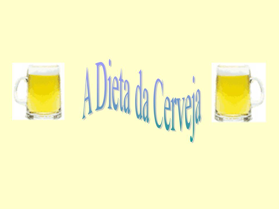 1 - Beba uma cerveja antes de cada refeição. Isso reduzirá seu apetite e você comerá menos.