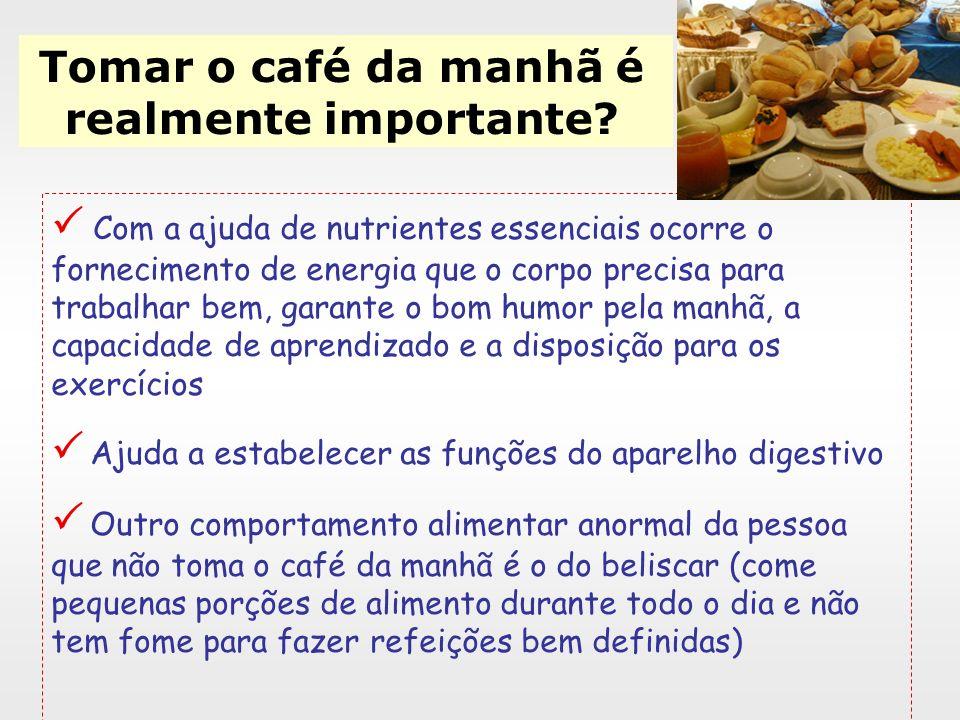 Tomar o café da manhã é realmente importante? Com o café da manhã, não só se começa melhor o dia como também se obtêm benefícios a longo prazo. - aume