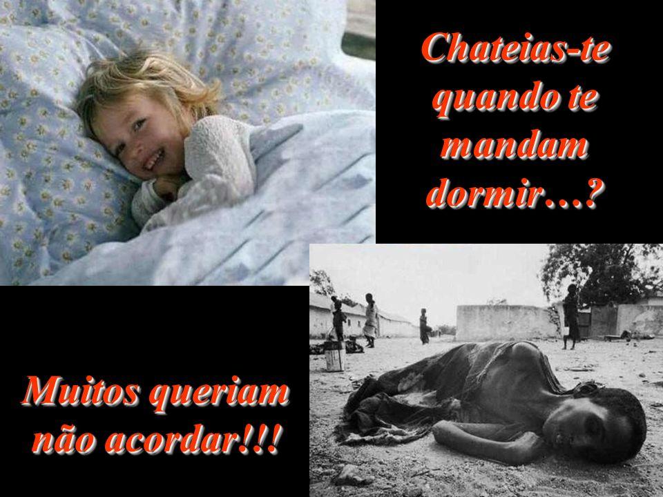 Chateias-te quando te mandam dormir…? Muitos queriam não acordar!!!
