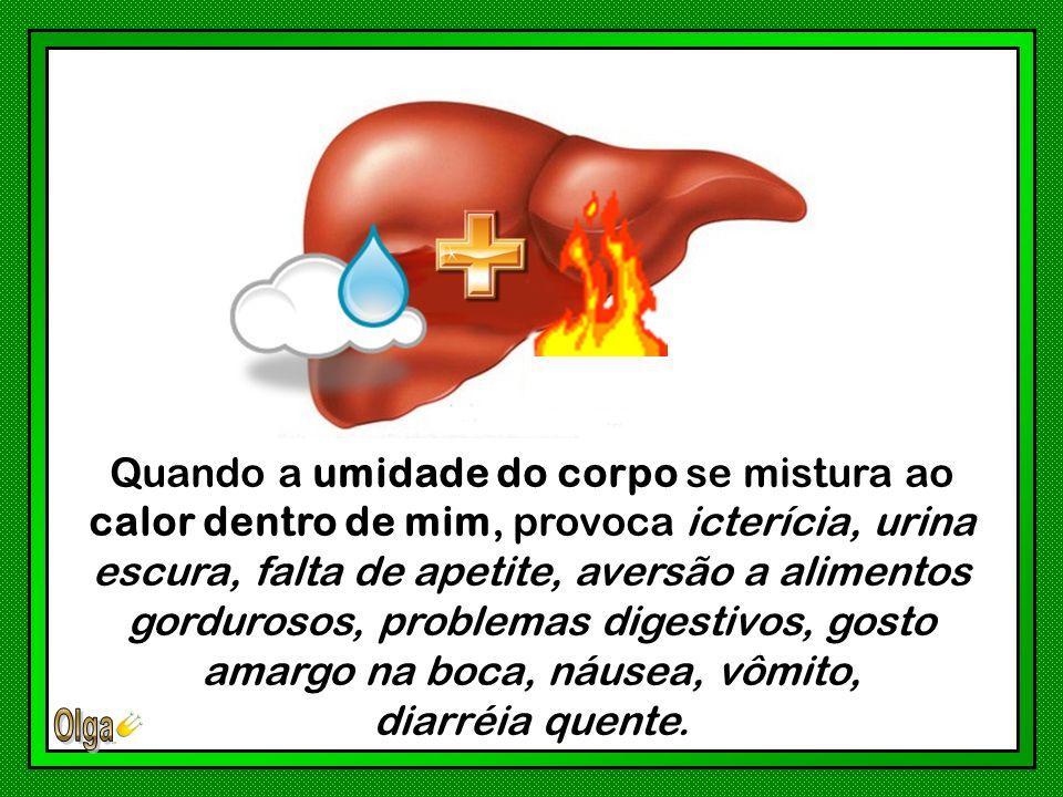 O calor excessivo afeta principalmente a parte superior do seu corpo, já que o calor sobe naturalmente.