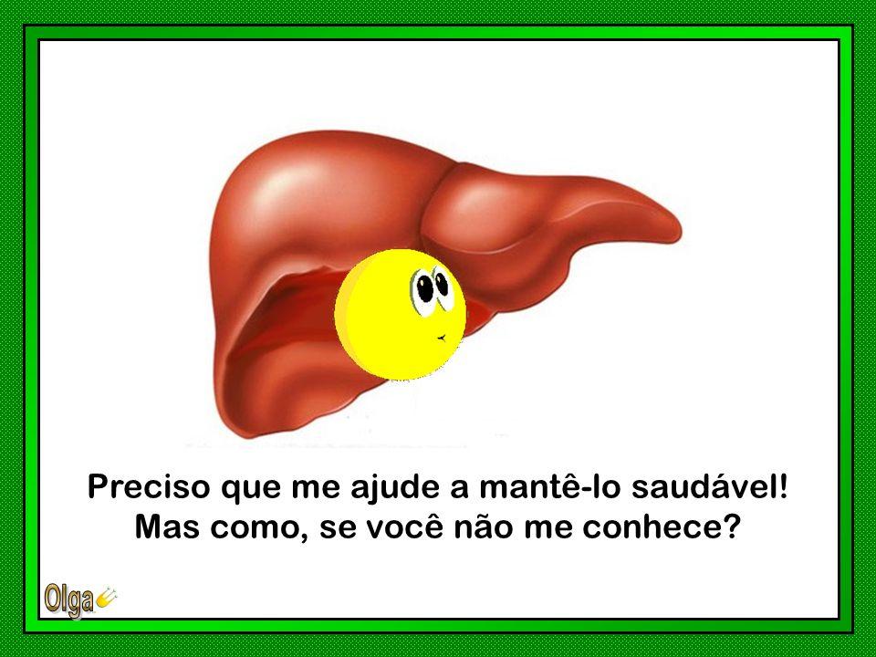 Olá! Você permite que eu me apresente? Sou o seu Fígado!