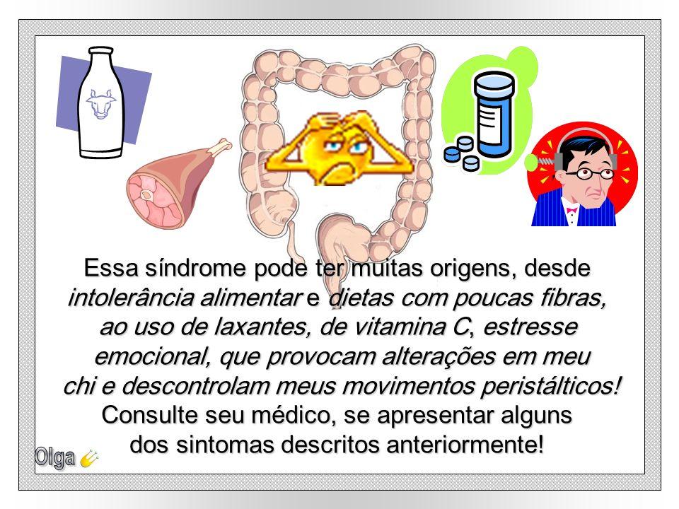 Ultimamente muita gente vem se queixando da síndrome do intestino irritável, que atinge uma pessoa em cada cinco! Embora não me cause lesões, seus sin