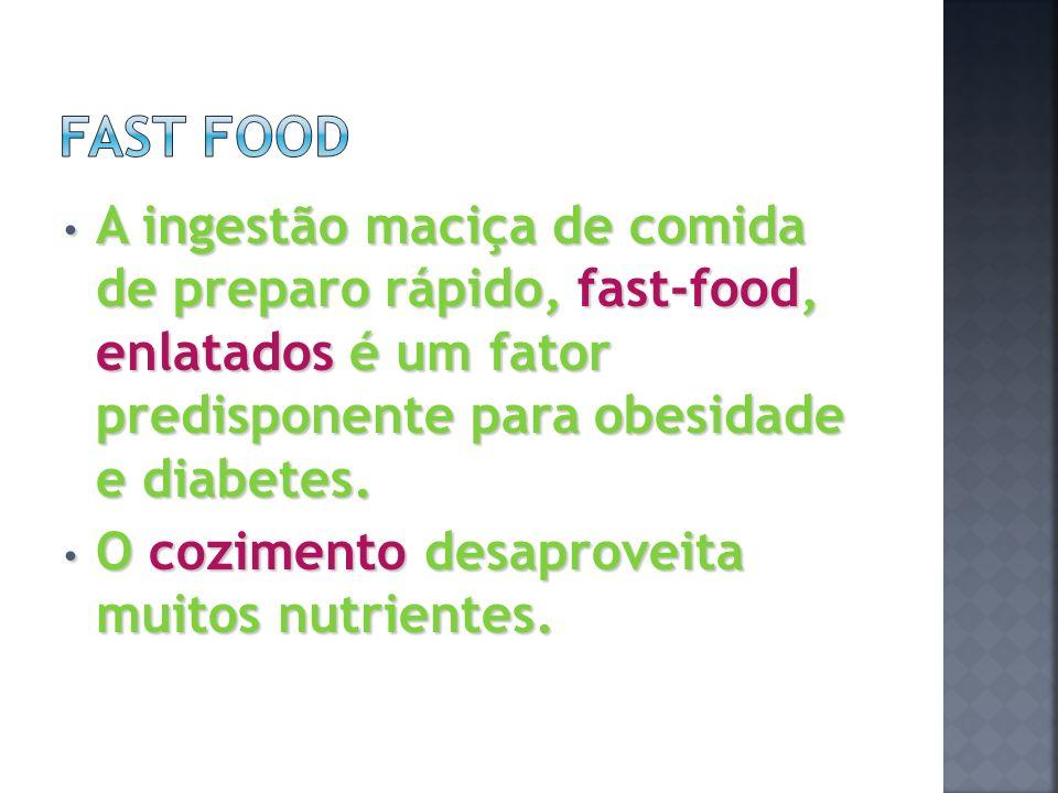 Quanto mais nutridos você está menos fome tem.