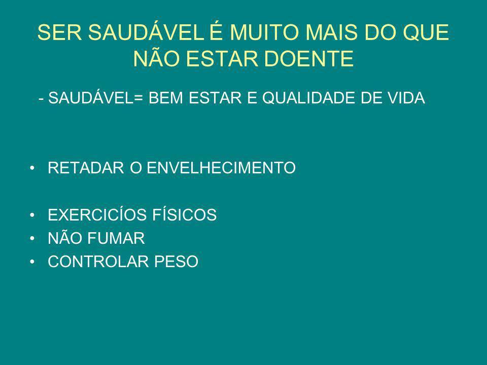 FALSAS CRENÇAS É PERIGOSO EXERCITAR-SE APÓS 40 ANOS .